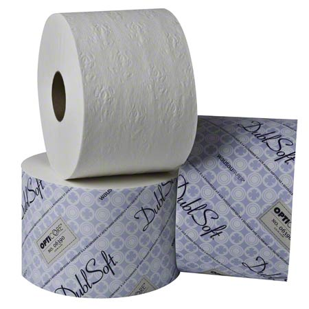 106390 DUBLSOFT PREMIUM TOILET TISSUE OPTICORE CONTROLLED 2PLY 36 X 800 FT/CASE