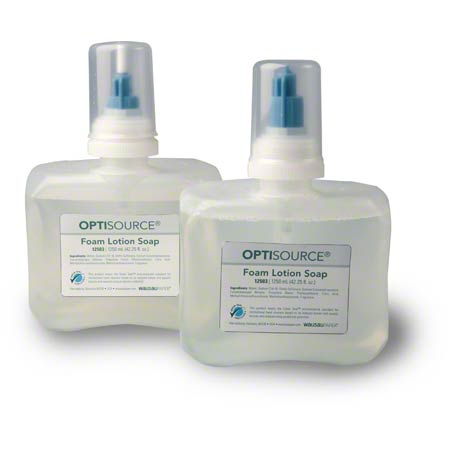 WP12503 OPTISOURCE FOAM LOTION SOAP 4 X 1250 ML/CS