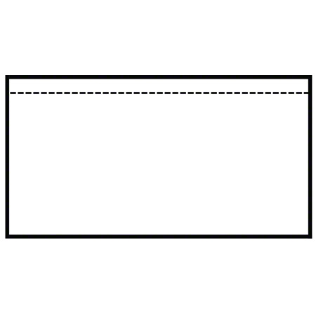 "BC200 ENGLISH PACKING SLIP ENVELOPES 10 X 5.5"""" - 1000/CS"