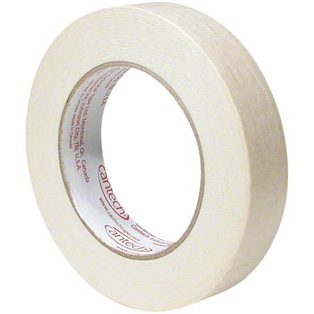107-00-12X55 12mm X 55m MASKING TAPE 72 ROLLS/CS.