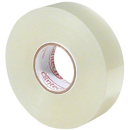 208 CLEAR TAPE 18MMx66M, 1″ CORE 48RLS/CS