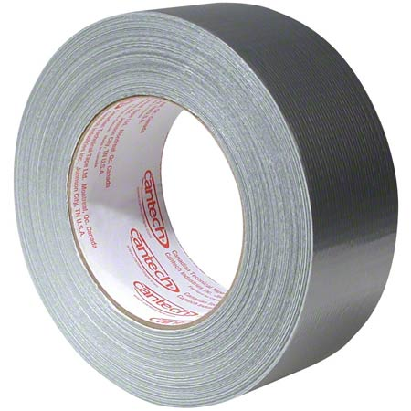 88-21 DUCT TAPE PRODUCTION GRADE POLY COATED SILVER 48MM X 55M, 24/CS