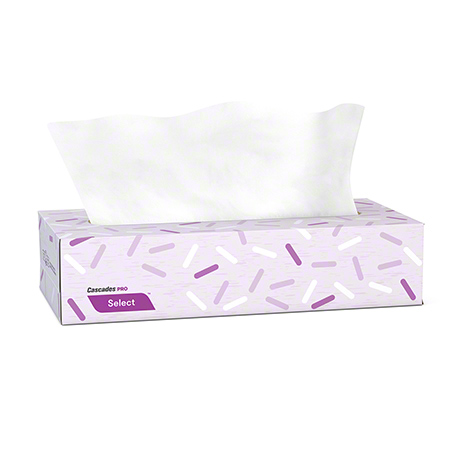 F950 FACIAL TISSUE 2 PLY CASCADES SELECT 30BX X 100SHTS/CS (PS300)