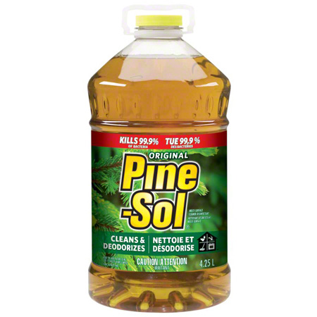 01166 PINE-SOL ORIGINAL PINE SCENT CLEANER 3 X 4.25L/CS