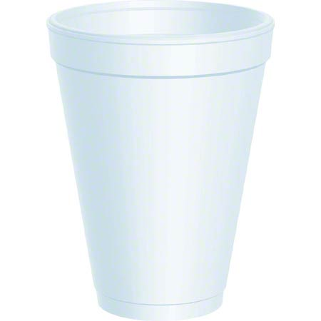 12J12 12OZ. FOAM CUP 1000/CS DART