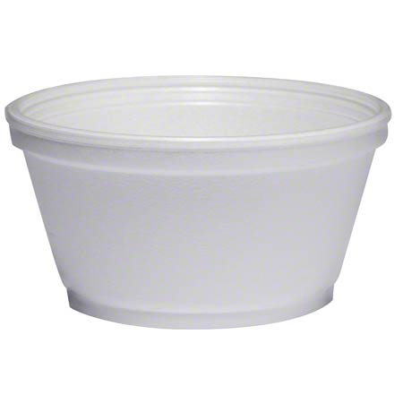 8SJ20 8OZ. FOAM SOUP CONTAINER 1000/CS