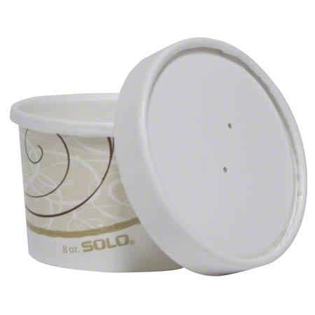 KHB8A-2050 WHITE PAPER SOUP 8OZ SOLO COMBO 250/CS