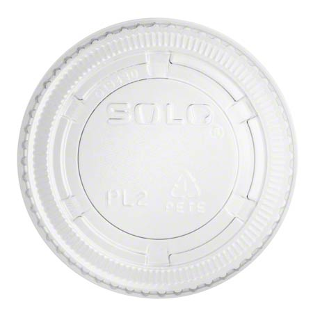 PL2N/PL200N LID FOR 2oz PORTION CUP CLEAR 2500/CS (WAB)
