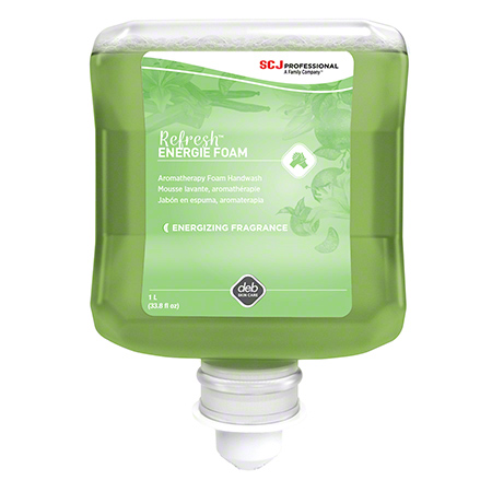 ENG1L DEB REFRESH ENERGIE FOAM SOAP, 6x1LT/CASE