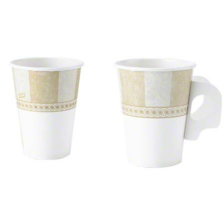 2342 PATH DIXIE 12 OZ. POLY LINED HOT DRINK CUPS, 1000/CS UNI458006407