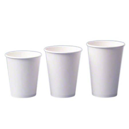 2340W 10 OZ WHITE HOT DRINK CUPS 1M/CS (LID CODE TB9542) Formerly 2340SW
