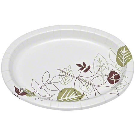 "SXP6PATH 5-7/8"" DIXIE COATED PAPER PLATES 1000/CS FS2211"