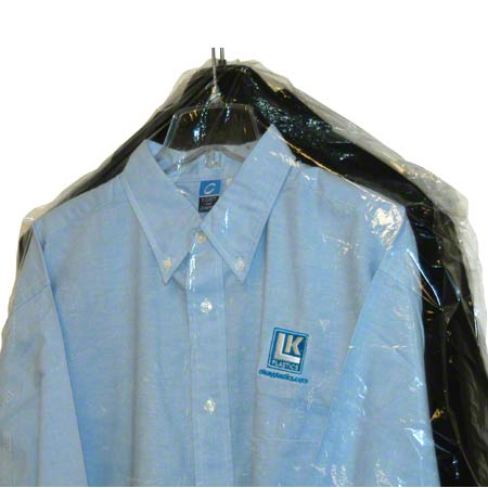 POLY GARMENT BAG 21x4x54 ECONO
