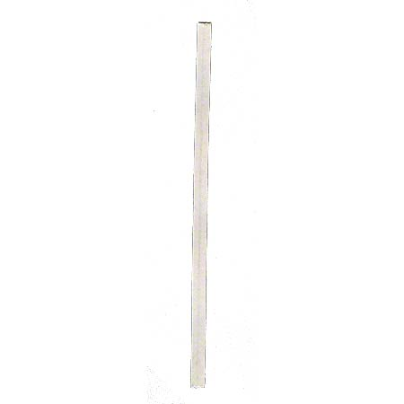 "4"" TWIST TIES PAPER WHITE 2M/BX"