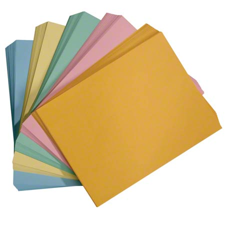 "COPY PAPER 8.5""x11"" CANARY YELLOW 5M/CS"