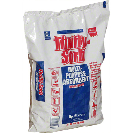 THRIFTY-SORB 40LB ALL PURPOSE ABSORBENT (BLUE LABEL)