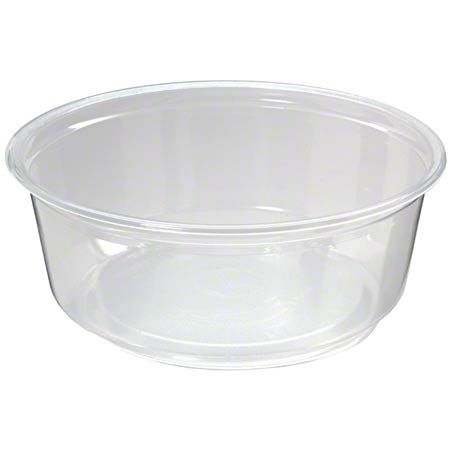 DELI CONTAINER CLEAR PRO-KAL 8OZ 500/CASE