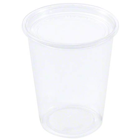 RD32 DELI CONTAINER ALUR ROUND PET 32oz 500/CASE