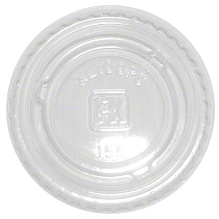 XL100PC LID FOR CUP PORTION PLASTIC0.5 / 0.75 / 1 OZ FABRIKAL PC050/075/100 2500/CASE