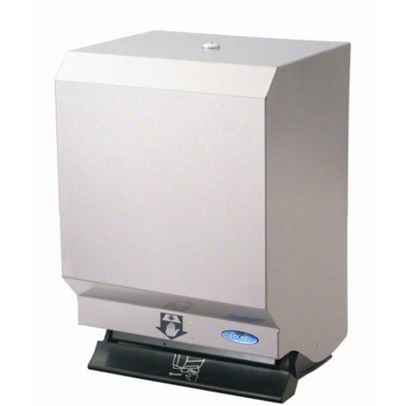 109-50S CONTROL ROLL TOWEL DISPENSER FROST - STAINLESS STEEL