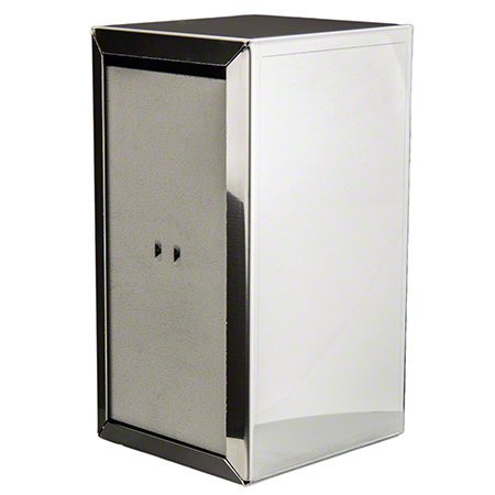 195C POLISHED CHROME TABLE NAPKIN DISPENSER JUNIOR