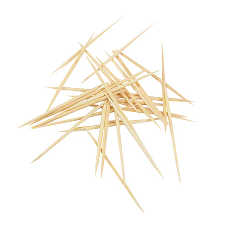 00414 HOTEL ROUND TOOTHPICK 25x1000/CS NATURAL