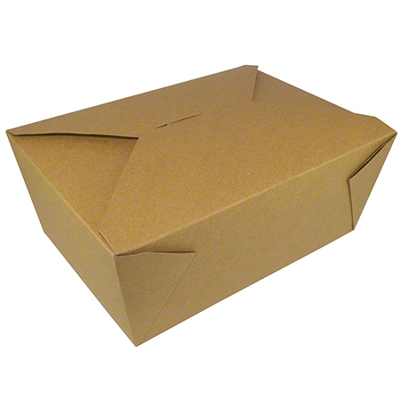 17504 TAKE OUT BOX NO4 KRAFT 160/CS