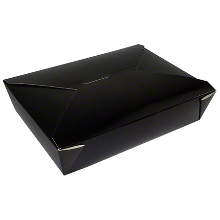 17602 TAKE OUT BOX BLACK NO 2 200/CASE