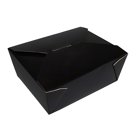 17608 TAKE OUT BOX BLACK NO 8 200/CASE