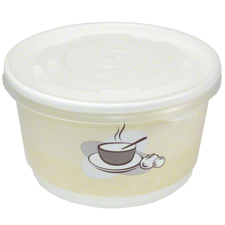76612 SOUP BOWL 12oz SMOOTH DOUBLE WALL 500/CASE