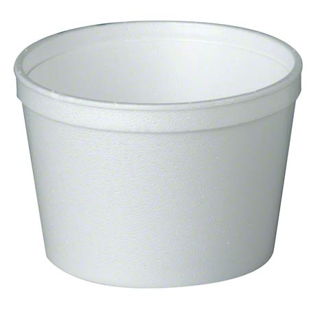 10C FOAM 10 OZ CONTAINER WHITE 500/CS