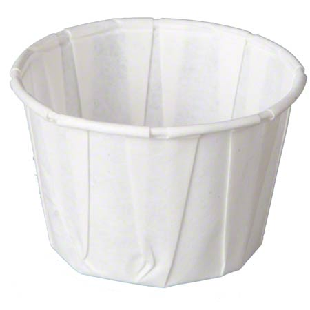 F200 2 OZ. PLEATED PAPER PORTION CUPS 5M/CS.