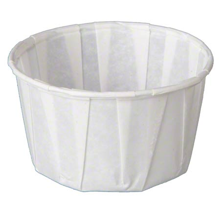 F325 3.25OZ PLEATED WATER CUP 2500/CS