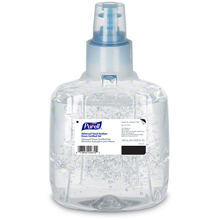 1903-02-CAN00 LTX-12 PURELL GEL ADVANCED HAND SANITIZER 2 X 1200ML/CS