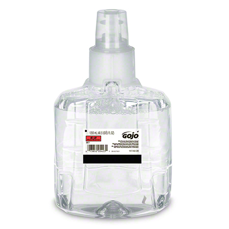 1917-02-CAN00 GOJO LTX-12 E2 FOAM SANITIZING HANDWASH WITH PCMX, 2x1200ML/CASE, CLEAR, CFIA APPROVED