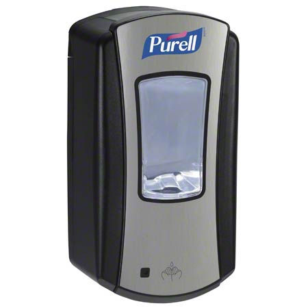 1928-04 LTX-12 PURELL AUTOMATIC DISPENSER – BRUSHED CHROME