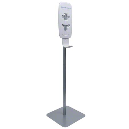 2423-DS SILVER MATTE TFX FLOOR STAND FOR PURELL DISPENSERS