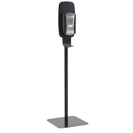 2425-DS BLACK TFX FLOOR STAND FOR PURELL DISPENSERS