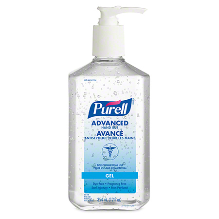 3770-12-CAN00 70% PURELL 12OZ HAND SANITIZER W/PUMP 12 X 12OZ/CS