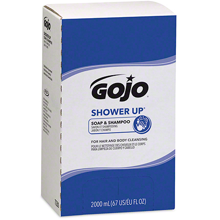 7230-04 SHOWER UP 2000 ML SHAMPOO, 4 X 2000 ML