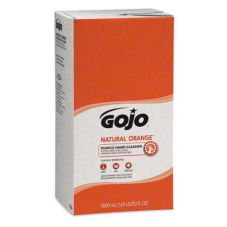 7556-02 NATURAL ORANGE 5000 ML CLEANSER W/PUMICE, 2 X 5000M