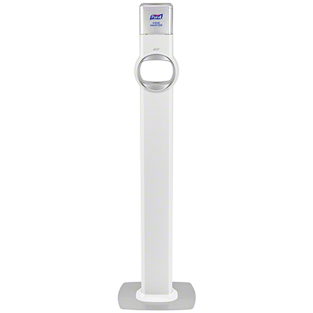 7720-DS PURELL FS8 FLOOR STAND DISPENSER, WHITE (DISPENSER INCLUDED)