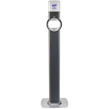 7724-DS PURELL FS8 FLOOR STAND DISPENSER, GRAPHITE (DISPENSER INCLUDED)