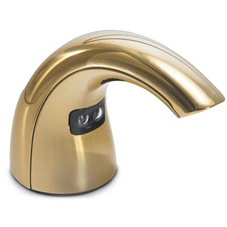 8560-01 GOJO CXT Touch Free Counter Mount Dispenser, Gold Finish