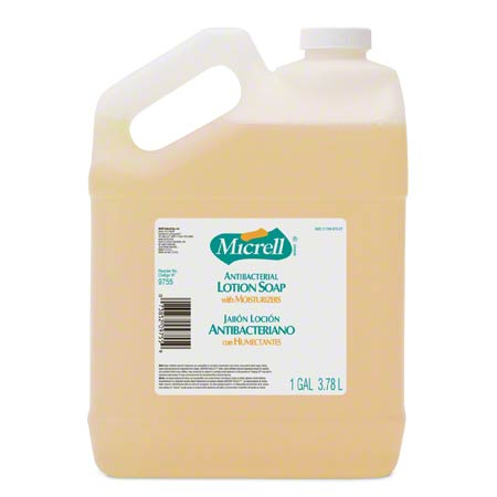 9755-04-CAN00 MICRELL ANTIBAC LOTION SOAP 4 X 1GAL/CS