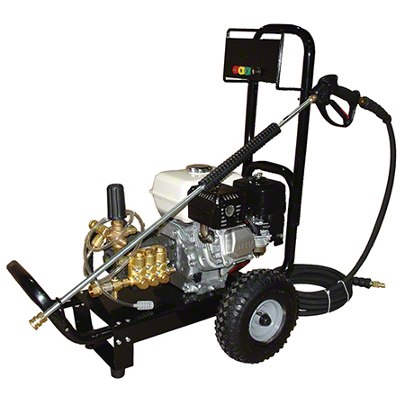 A7500G Gas Cold Water Pressure Washer. 2500 Psi @ 3.0 Gpm, 6.5 Hp Industrial Grade Honda GX 3600 Rpm, Seperate Unloader.