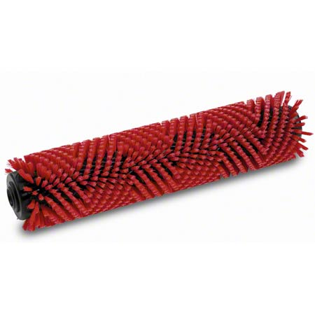"4.035-184.0 - 22"" RED ROLLER BRUSH"