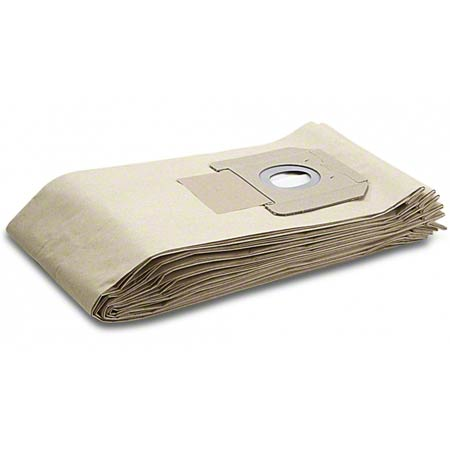 6.904-208 PAPER VACUUM BAGS 5/PK (for NT45/1 & 611)