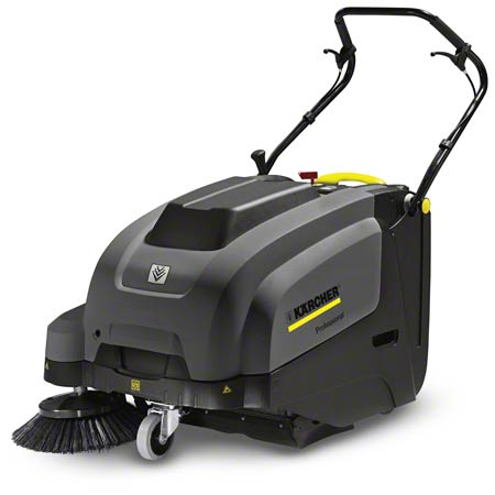 9.512-700.0 KARCHER KM 75/40 W C BP 85 AH AGM BATTERY OPERATED WALKBEHIND SWEEPER