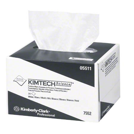 "05511 KIMTECH SCIENCE PRECISION WIPES 4.5X8.4"" 60X280/CS"